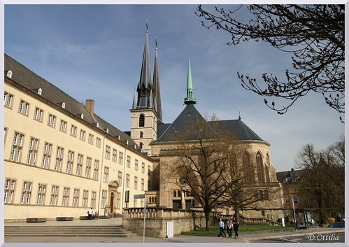 Luxembourg - Luxembourg - Notre Dame Cathedral