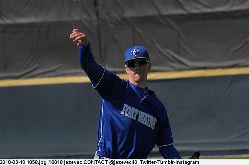 2018-03-10 1058 Baseball IPFW Mastodons  @ Butler University Bulldogs