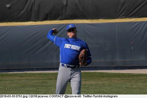 2018-03-10 0751 Baseball IPFW Mastodons  @ Butler University Bulldogs
