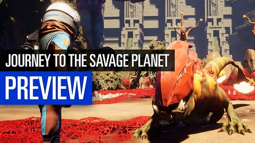 Journey to the Savage Planet | PREVIEW | Auf zu fremden Planeten