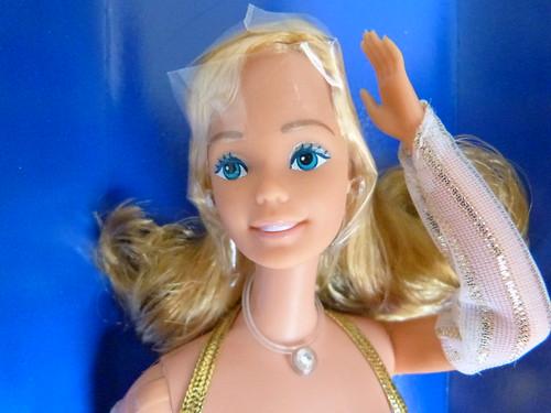 Barbie golden dream / rêve d'or /  goldener traum / da sogno 1980, box european face different Europe