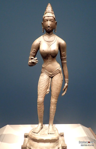 Queen Semblyan as Goddess Uma, also known as Parvati, India, state of Tamil Nadu, Chola dynasty, ca. 990