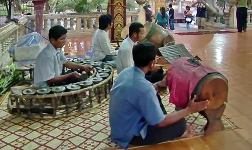 Cambodia - Temple Ceremony - 6