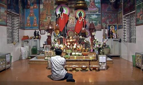 Cambodia - Temple Ceremony - 8