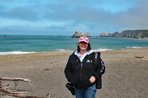 Kel at the California Coast/Mendocino County, May 2019