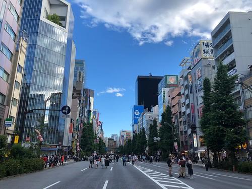 Walked from Ueno to Akihabara.