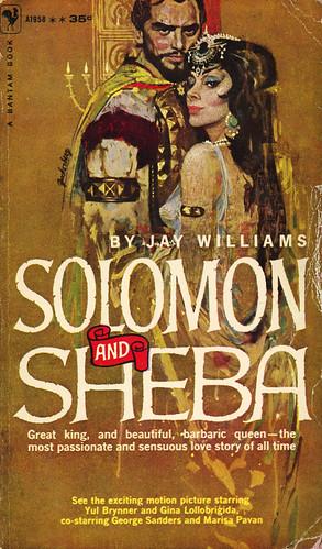 Bantam Books A1958 - Jay Williams - Solomon and Sheba