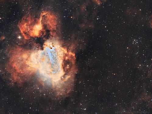 M17- The Omega Nebula