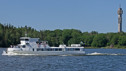 The archipelago ship Rödlöga in Stockholm