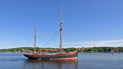 The sailing ship Sunbeam in Stockholm