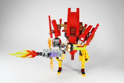 LEGO NINJAGO Kay's Exoflame