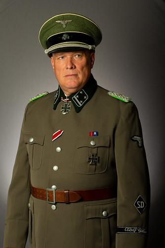 WW2 SS Schutzstaffel German Officer for recent TV production