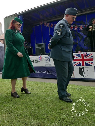 Bridlington Old Town 1940s Day June 9th 2019
