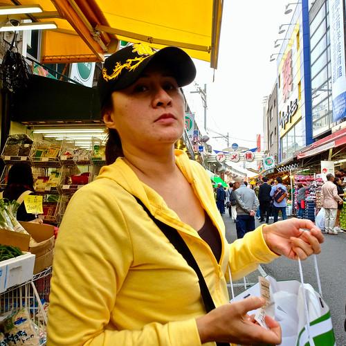ameyoko-cho, japan