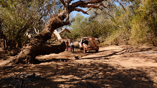 Lunch stop by the river - Kakadu NT