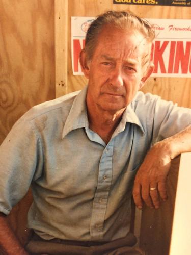 James V. Tatum, circa 1988. My Dad.