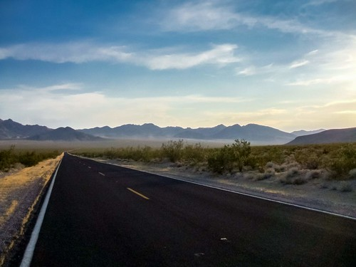 Lonely Long desert highway...no hotel in sight