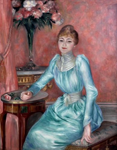 IMG_2800DJ Pierre Auguste Renoir. 1841-1919. Paris. Madame de Bonnières. 1889 Paris. Petit Palais
