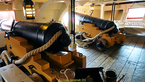 HMS Victory, Portsmouth Historic Dockyard, this visit was in May 2018, Victory Gate, HM Naval Base, Portsmouth PO1 3LJ England.