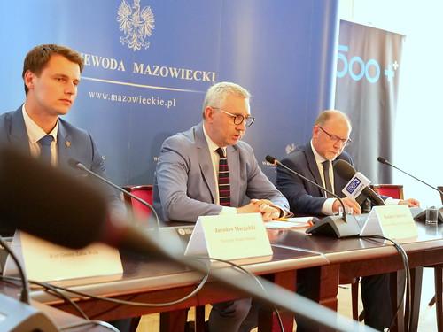 Wiceminister Kazimierz Kuberski w Mazowieckim UW