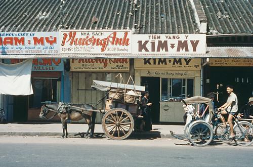 Saigon 1950s - Rue Paul Blanchy, nay là đường Hai Bà Trưng