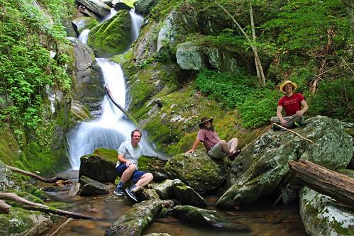 Me, Scott, and Spencer at Ledbetter Canyon Falls