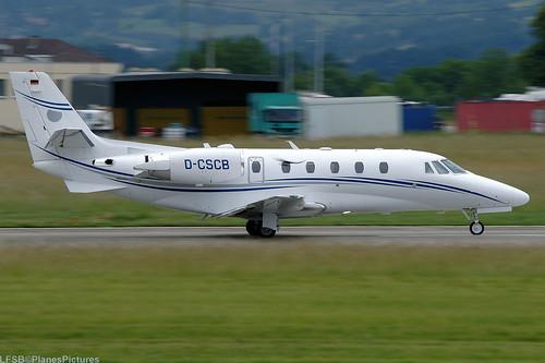 D-CSCB(cn 560-6187 ) Cessna 560 Citation XLS+ Silver Cloud Air GmbH