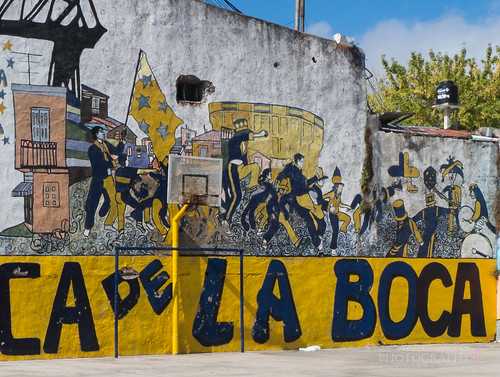Colours and Street Art of Buenos Aires