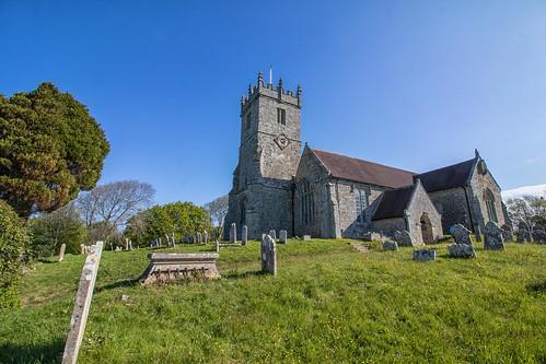 Godshill Church. Isle of Wight.