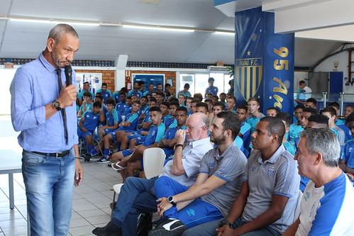 PAPO COM ÍDOLO com Albeneir - FOTOS: Alceu Atherino / AVAÍ F.C.
