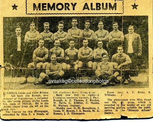 Leeds Rugby League team 1925-26