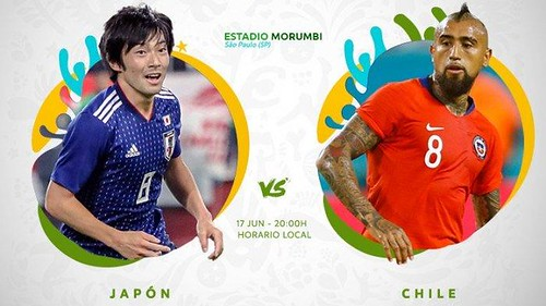 Ayo Nonton Bareng Pagi Ini Siaran Langsung Live Jepang vs Chile Copa America 2019