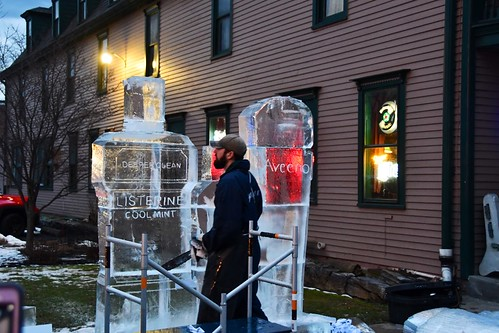 029 Johnson & Johnson Ice Sculpture