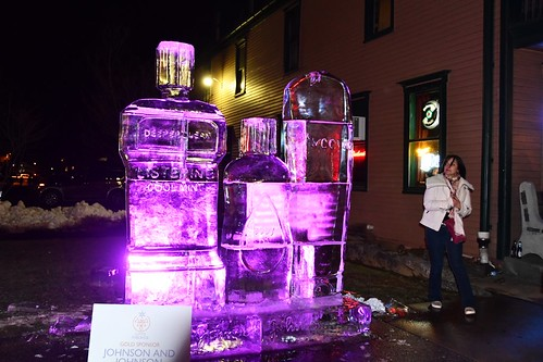 088 Johnson & Johnson Ice Sculpture