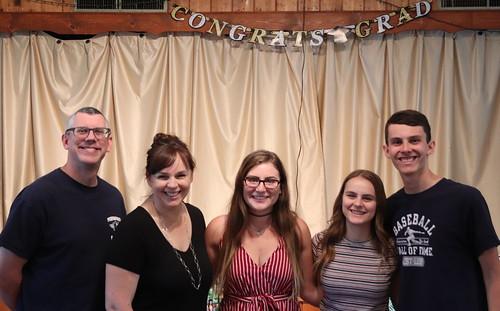 Uncle Dave, Aunt Kelly, Maggie & Matt