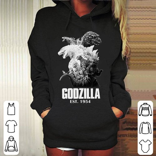 Funny Godzilla EST. 1954 King of the Monsters shirt
