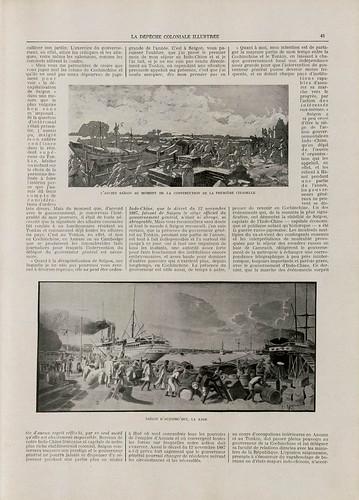 La Dépêche coloniale illustrée - 15 février 1909 - Số báo cách nay 110 năm, Kỷ niệm 50 năm ngày chiếm SAIGON (15)