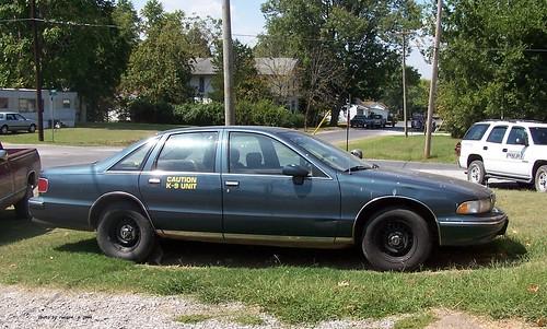 Pope County IL Sheriff - 1994 Chevrolet Caprice - K-9 unit
