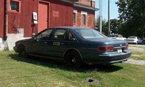 Pope County IL Sheriff - 1994 Chevrolet Caprice - K-9 unit (2)
