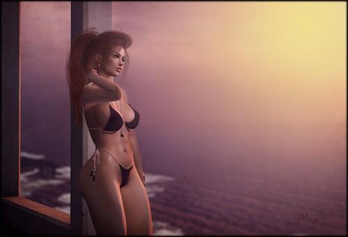 Liquid sunsets...