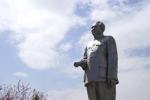 Statue of Mao Zedong - Urumqi, China
