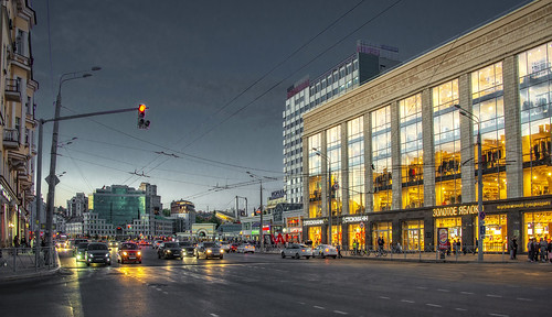 Kazan. Evening.