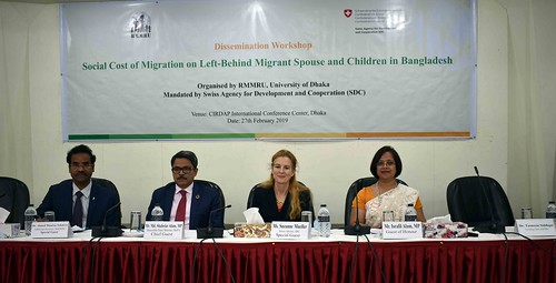 Study Findings Dissemination Workshop on Social Cost of Migration on Left-Behind Migrant Spouses and Children in Bangladesh