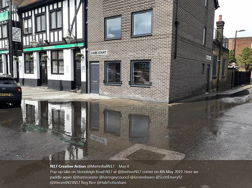 Stoneleigh Road Pop-up Lake - 8 May 2019