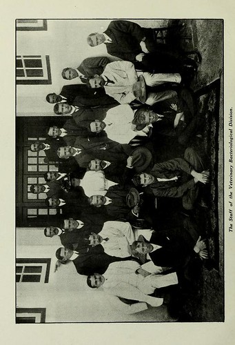 This image is taken from The veterinary bacteriological laboratories : Issued in commemoration of the opening of the new laboratories at Onderstepoort, Pretoria, October, 1908
