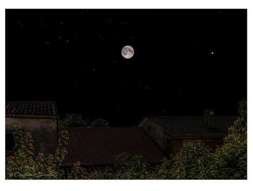 Moon-Jupiter conjunction at 02.00 A.M.