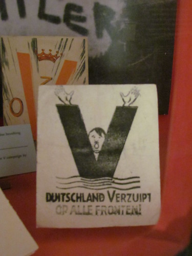Hitler Satire in the Verzets Resistance Museum -- Amsterdam, The Netherlands, May 14, 2019