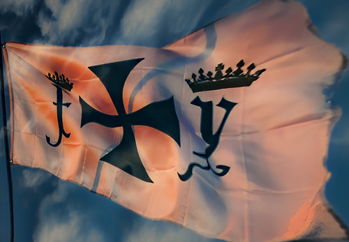 Replica of Spanish Flag