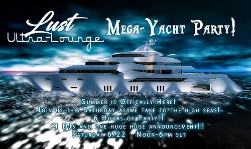 Lust Mega-Yacht Party
