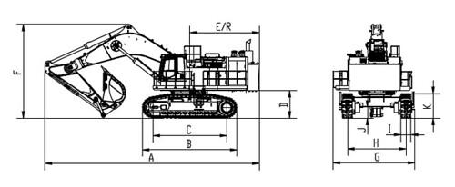 Экскаватор карьерный XCMG XE1300C